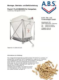 Montageanleitung Pelletsilo Flachboden von ABS