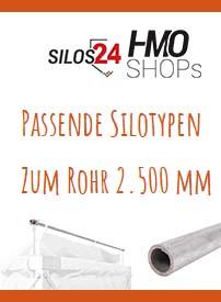 Passende Silotypen zum Rohr 2.200mm