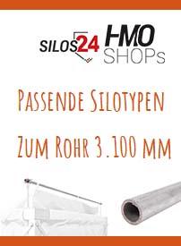 Passende Silotypen zum Rohr 3.100 mm