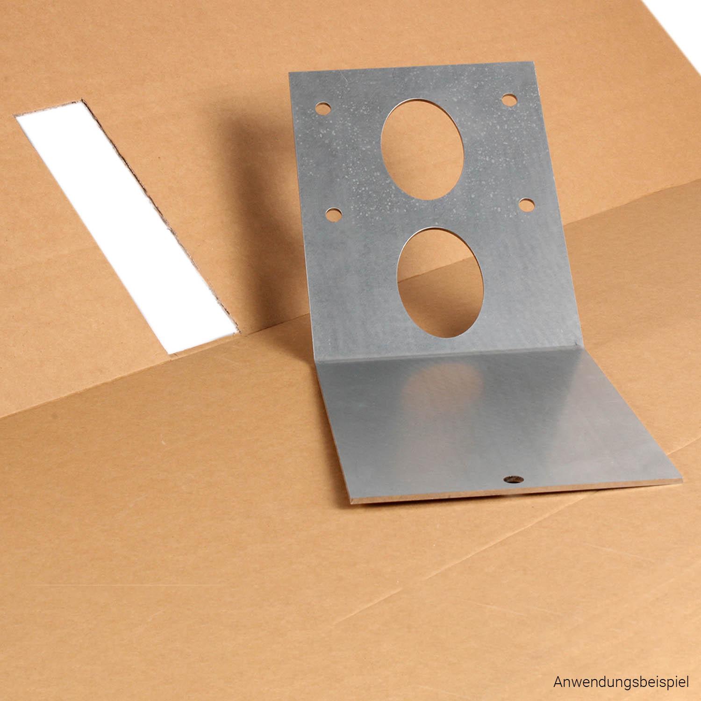 Montageplatte für Saugsonde bei Schrägboden